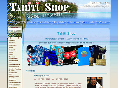 Tahiti Shop
