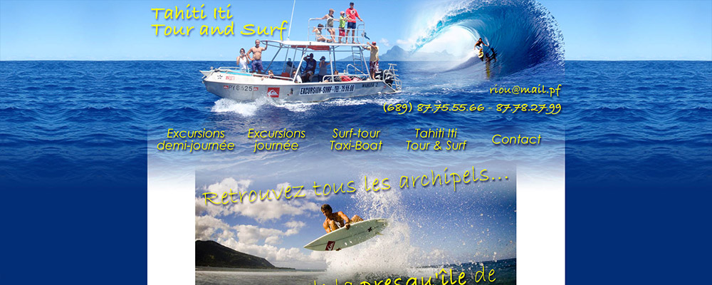 Tahiti Iti Tour and Surf